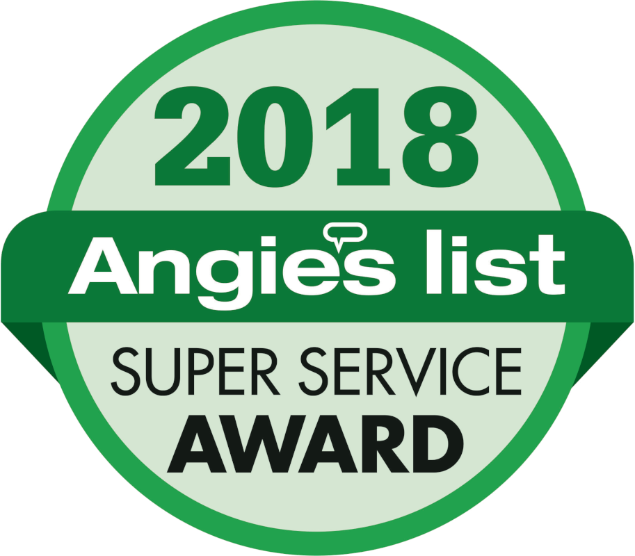 Angie's List 2018 Badge