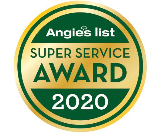 Angie's List 2020 Badge