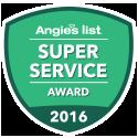 Angie's List 2016 Badge