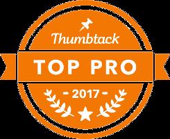 Thumbtack 2017 Badge