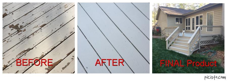 Behr DeckOver New Stain - Decks