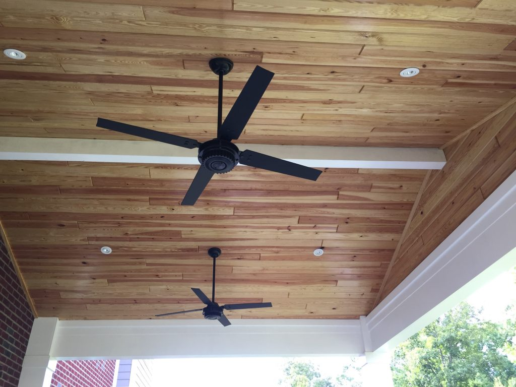 Covered Patio Tongue & Groove Ceiling