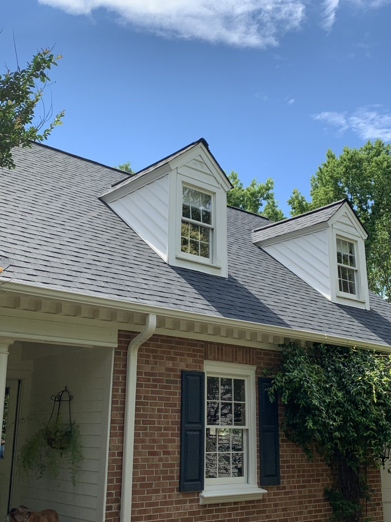 New roof installed in Park Crossing neighborhood, McToolman Roofing Contractor, Charlotte, NC.