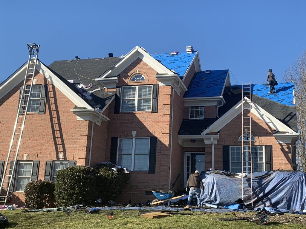 Roof Replacement Project in Waxhaw, NC